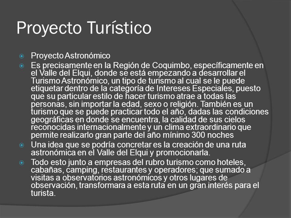 Proyecto Turístico Proyecto Astronómico