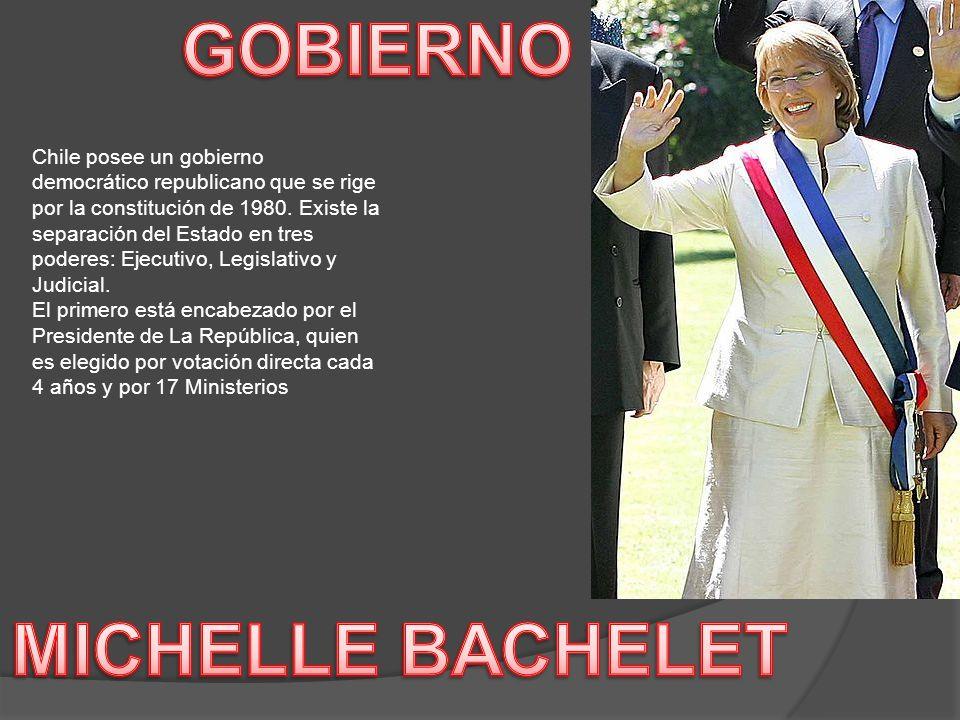 GOBIERNO MICHELLE BACHELET