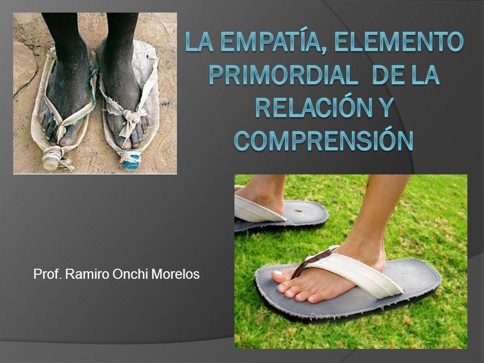 LA EMPATÍA, ELEMENTO PRIMORDIAL DE LA RELACIÓN Y COMPRENSIÓN