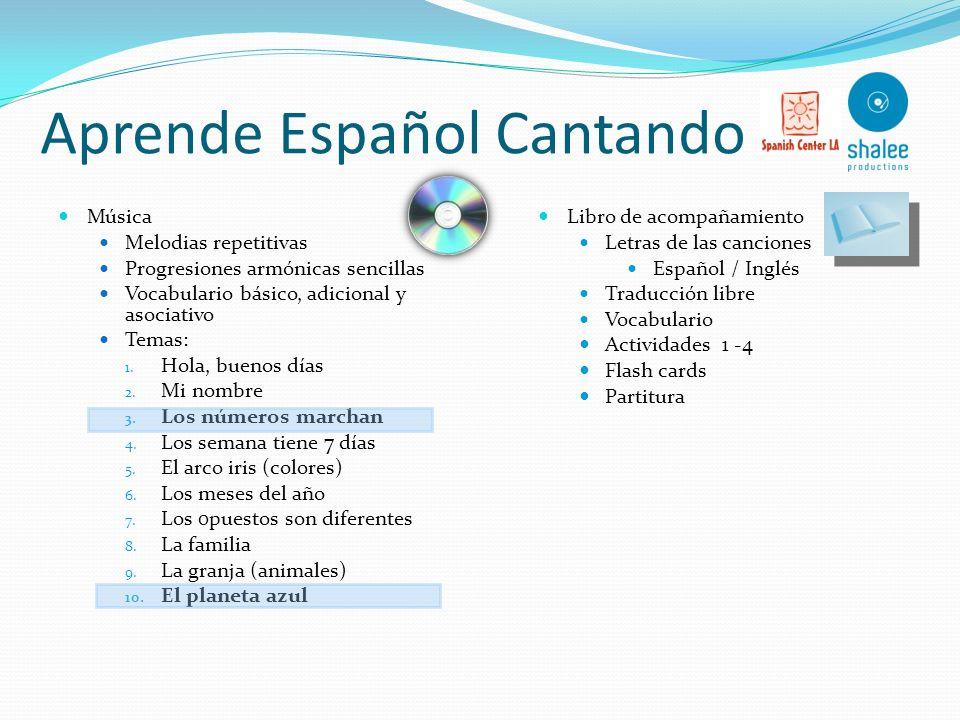 Aprende Español Cantando
