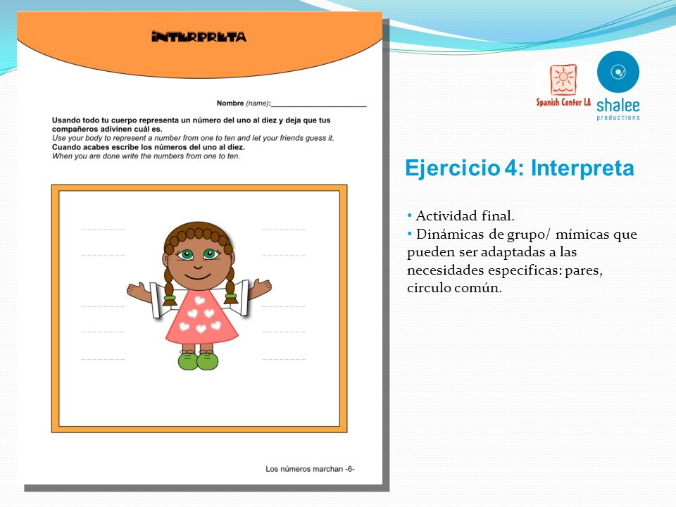 Ejercicio 4: Interpreta
