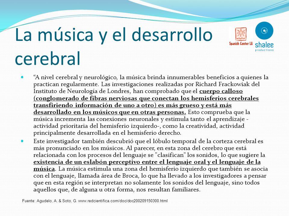 La música y el desarrollo cerebral