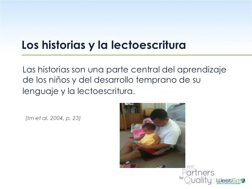 Los historias y la lectoescritura