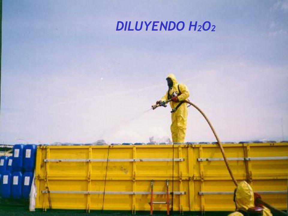 DILUYENDO H2O2