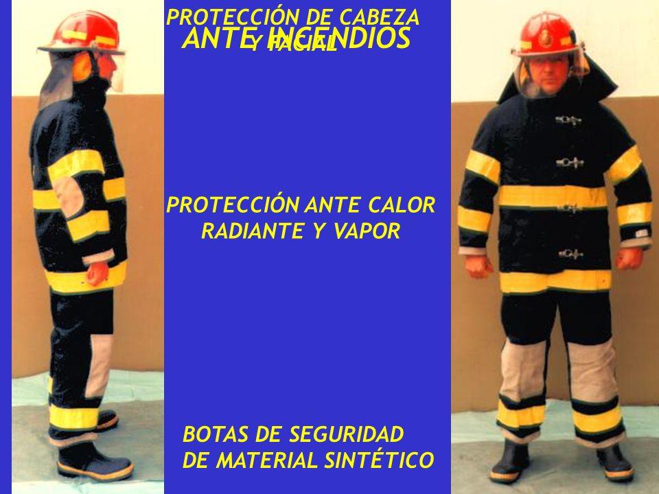 ANTE INCENDIOS PROTECCIÓN DE CABEZA Y FACIAL PROTECCIÓN ANTE CALOR