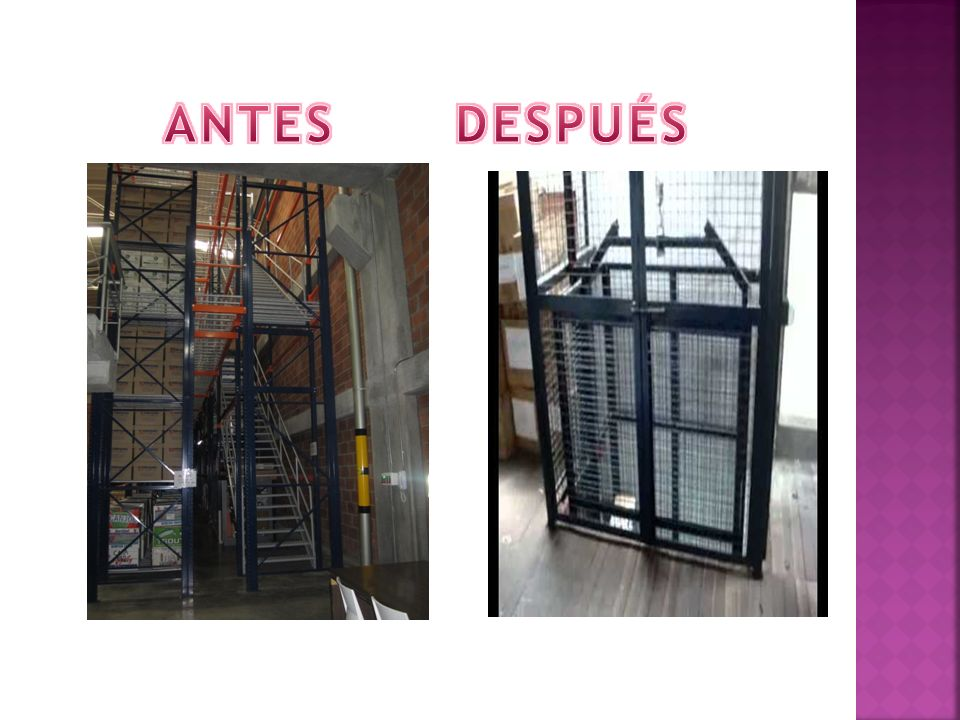 ANTES DESPUÉS