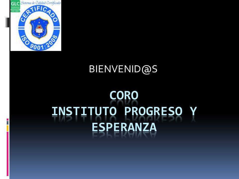 CORO INSTITUTO PROGRESO Y ESPERANZA