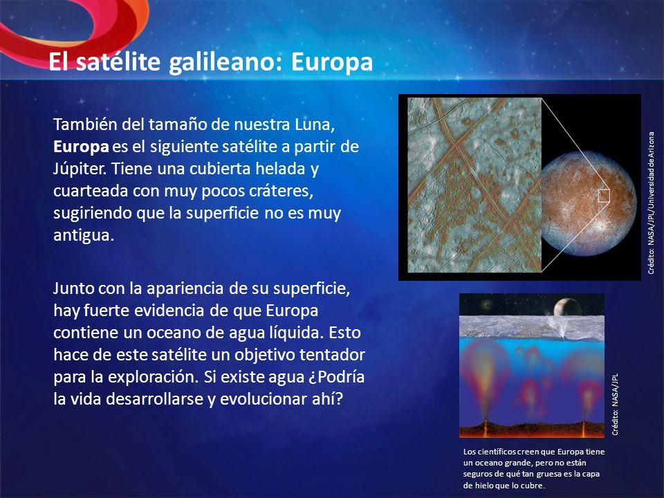 El satélite galileano: Europa