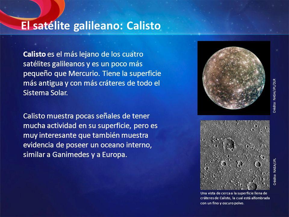 El satélite galileano: Calisto