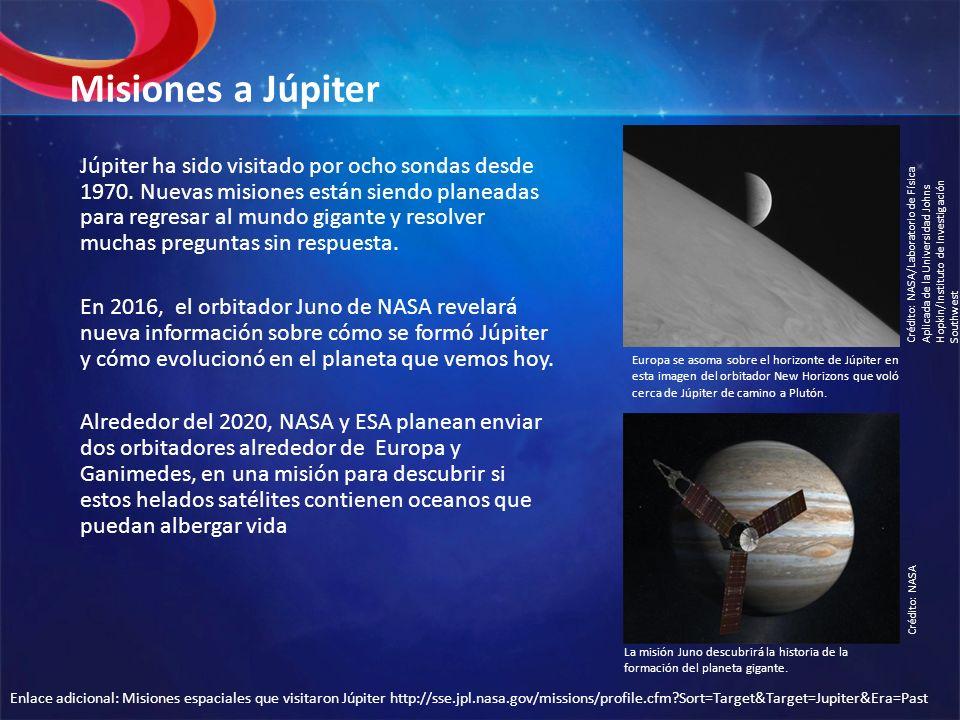 Misiones a Júpiter