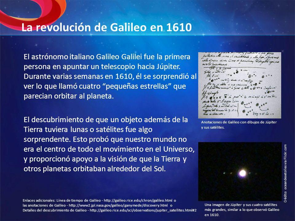 La revolución de Galileo en 1610