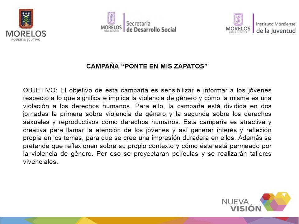 CAMPAÑA PONTE EN MIS ZAPATOS