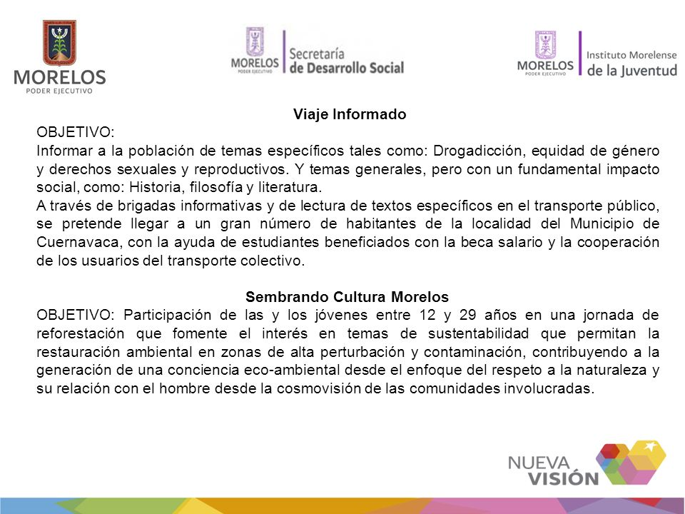 Sembrando Cultura Morelos