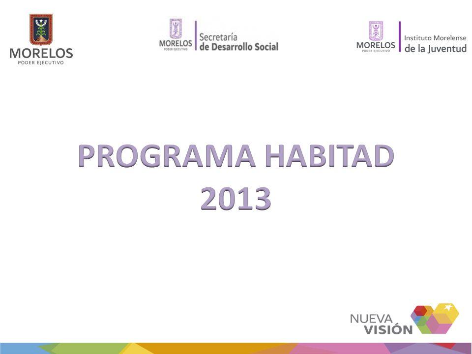PROGRAMA HABITAD 2013