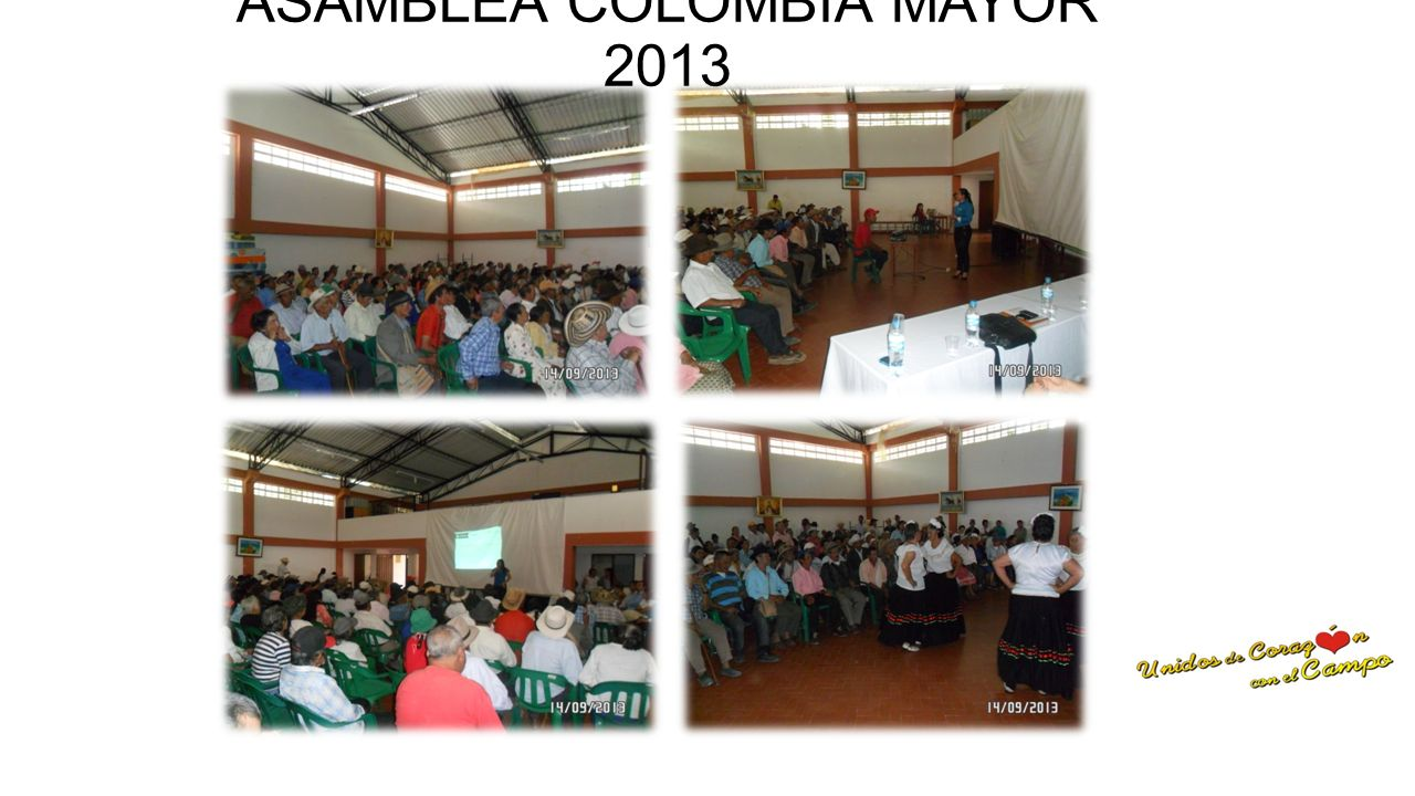 ASAMBLEA COLOMBIA MAYOR 2013