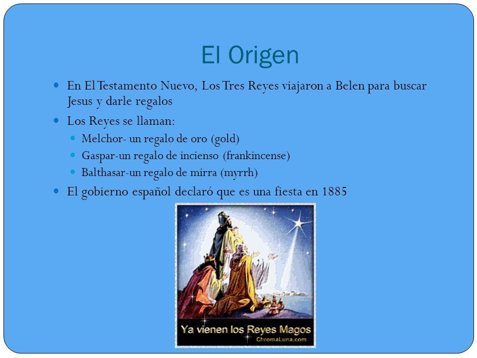 El Origen En El Testamento Nuevo, Los Tres Reyes viajaron a Belen para buscar Jesus y darle regalos.