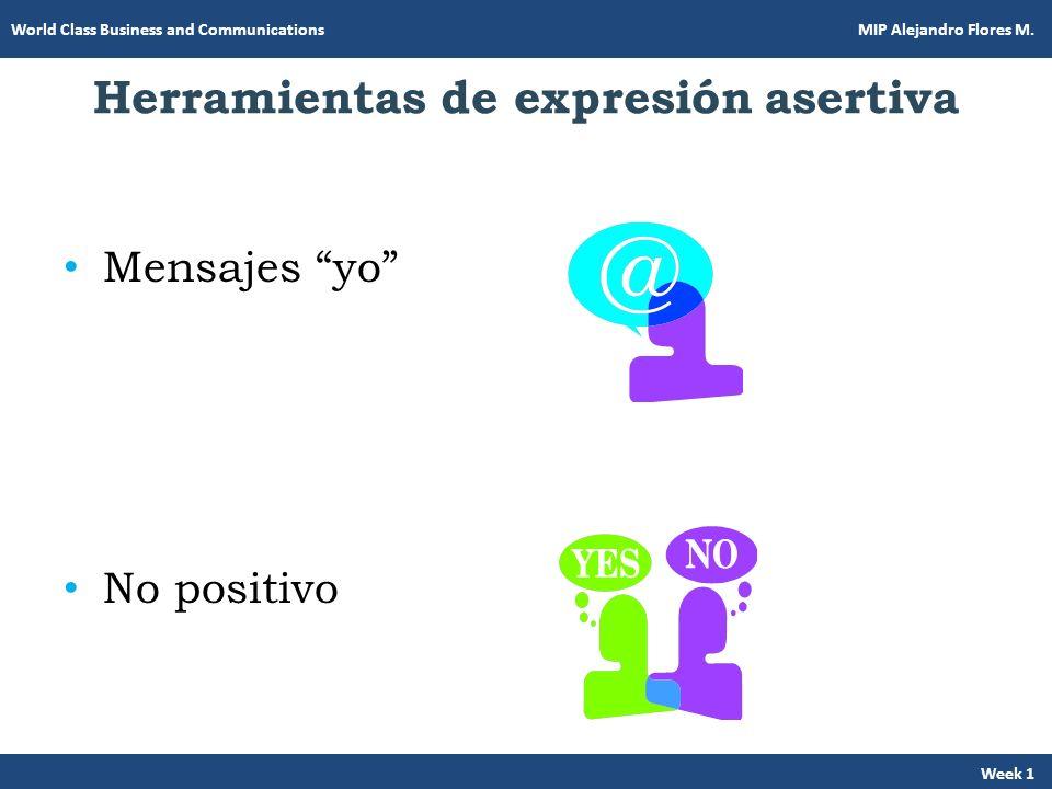 Herramientas de expresión asertiva
