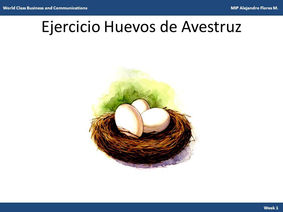 Ejercicio Huevos de Avestruz