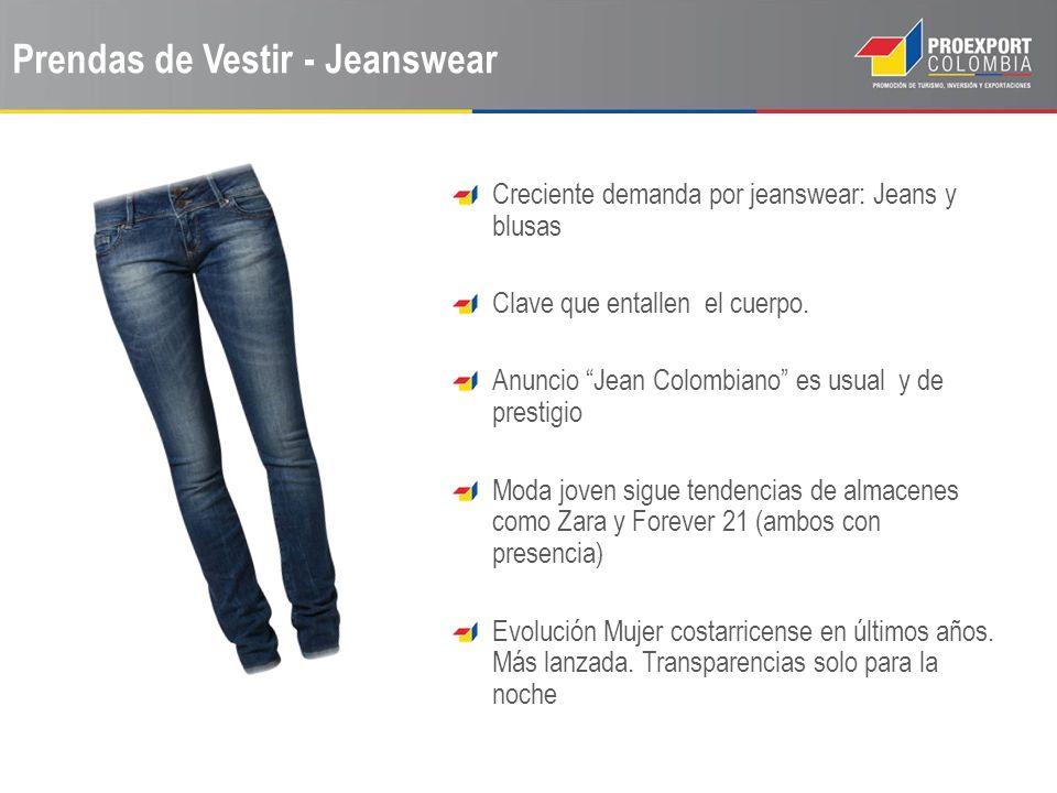 Prendas de Vestir - Jeanswear