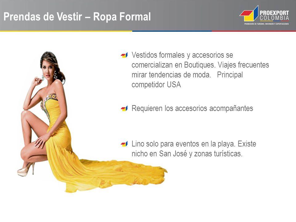 Prendas de Vestir – Ropa Formal