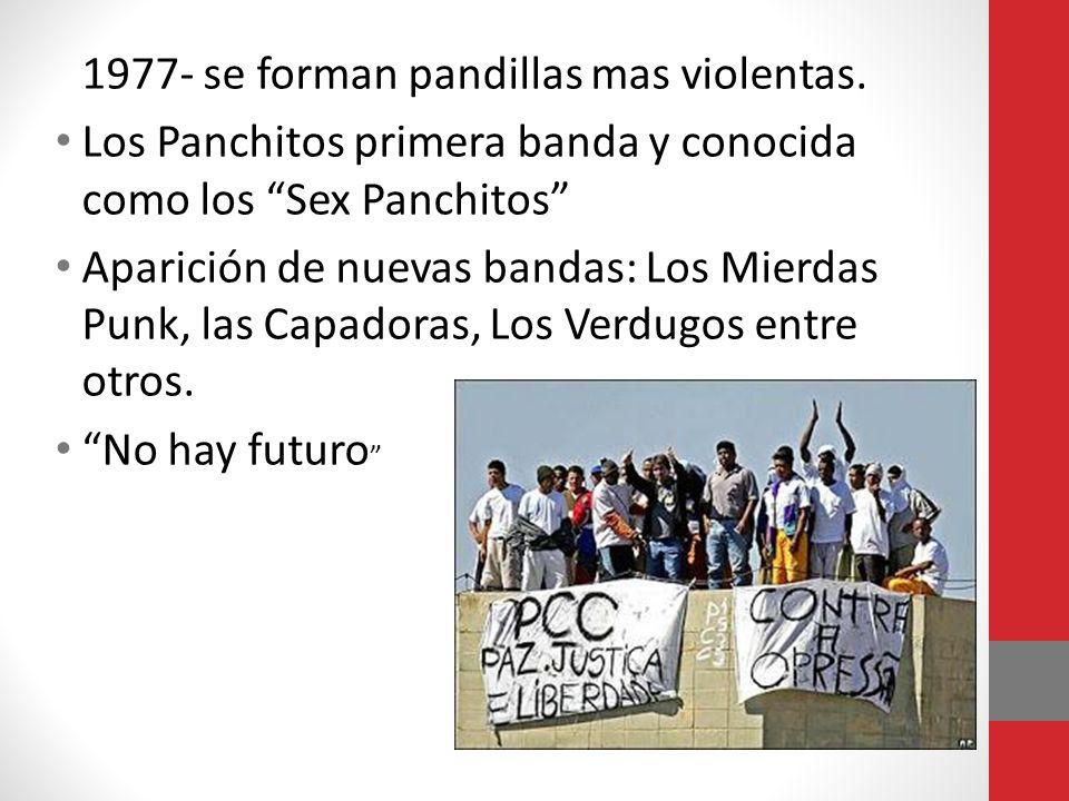 Los Panchitos primera banda y conocida como los Sex Panchitos
