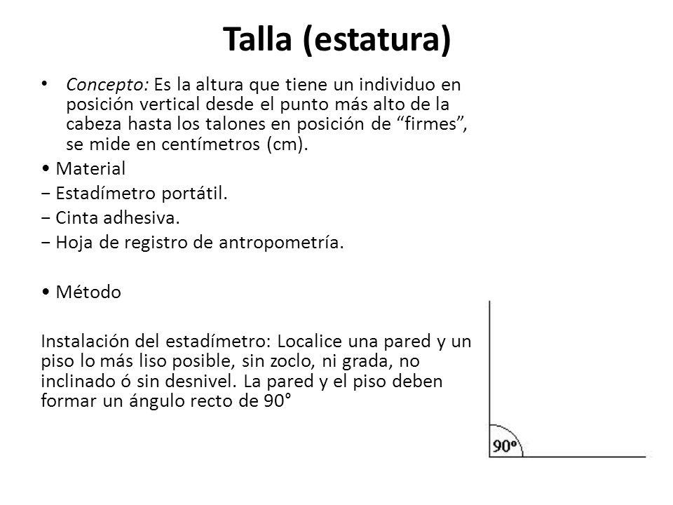 Talla (estatura)