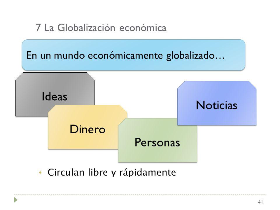 7 La Globalización económica