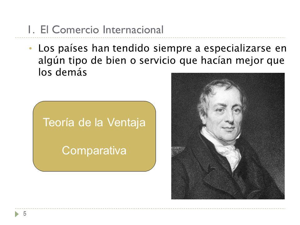 1. El Comercio Internacional