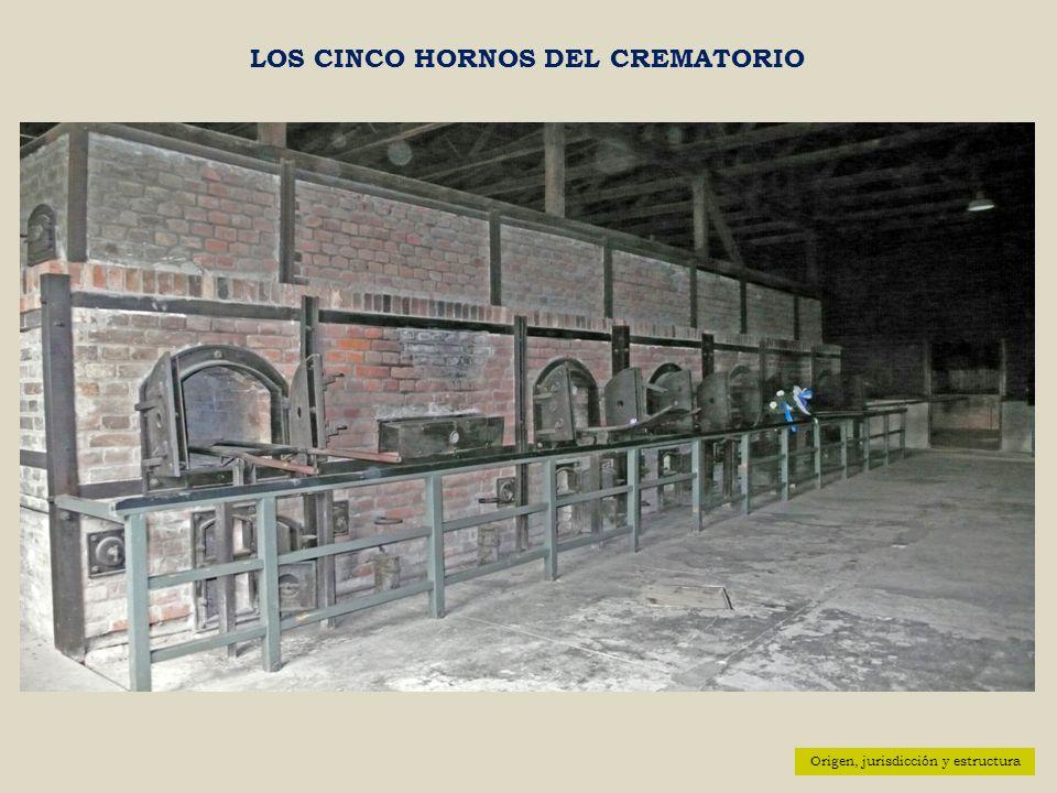 LOS CINCO HORNOS DEL CREMATORIO