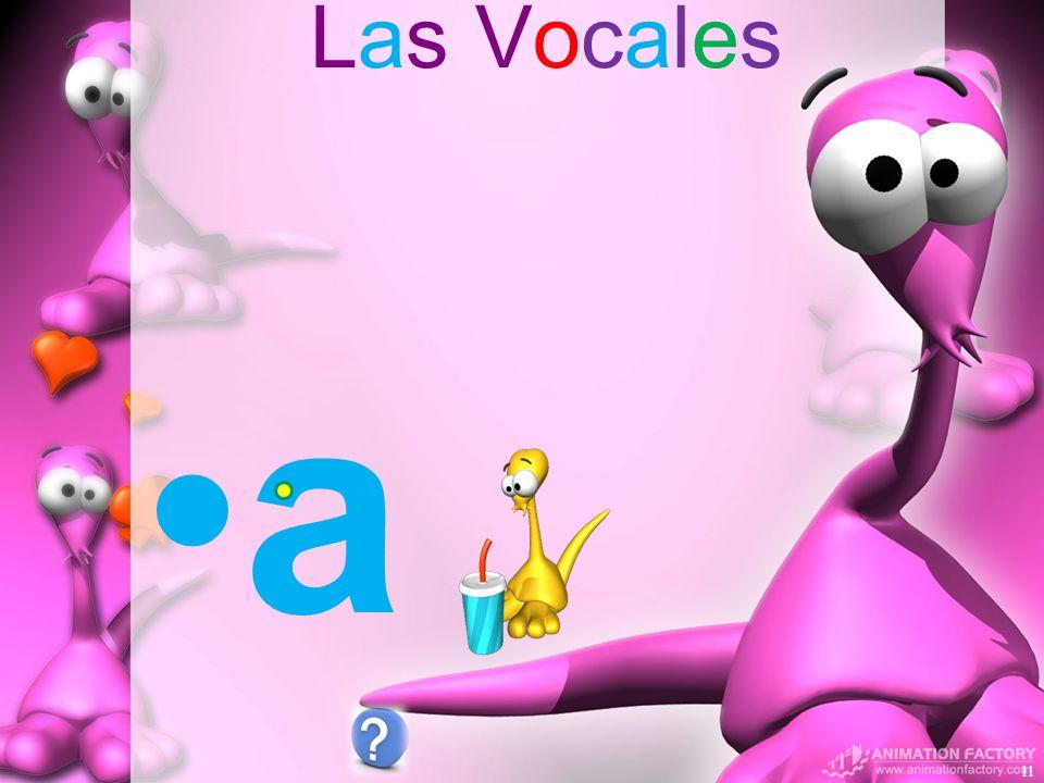 Las Vocales a