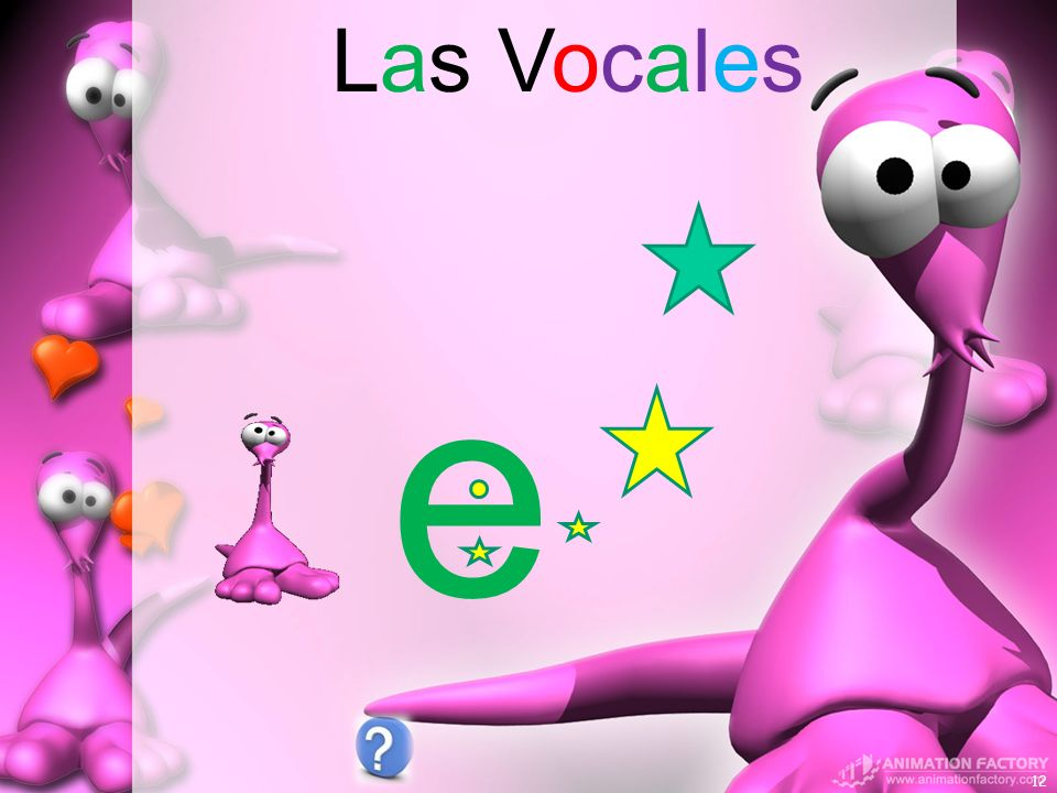 Las Vocales e