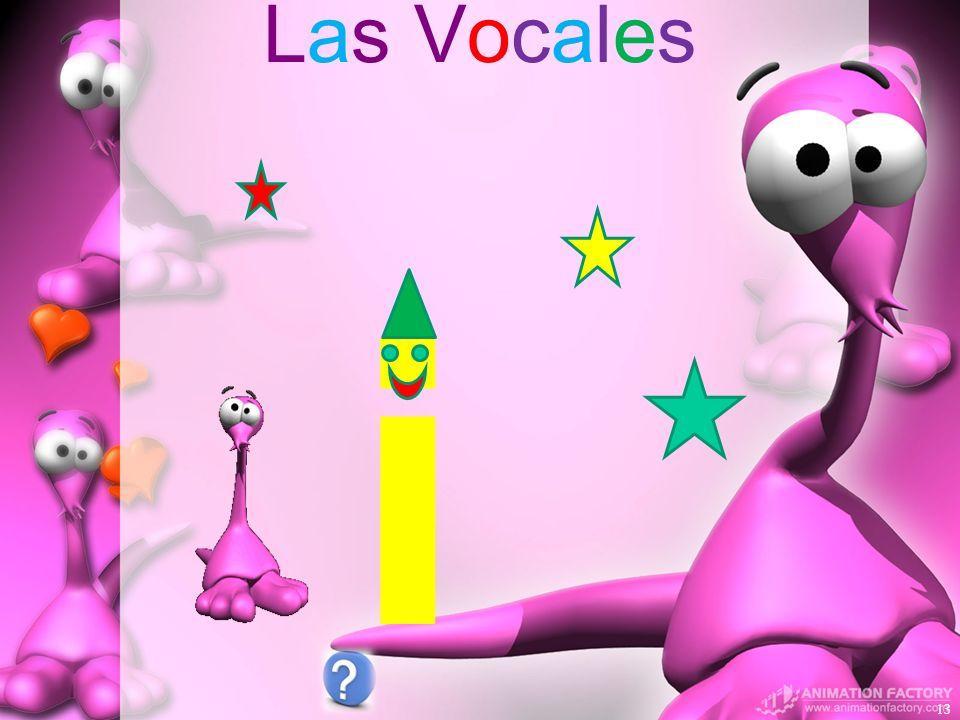 Las Vocales i