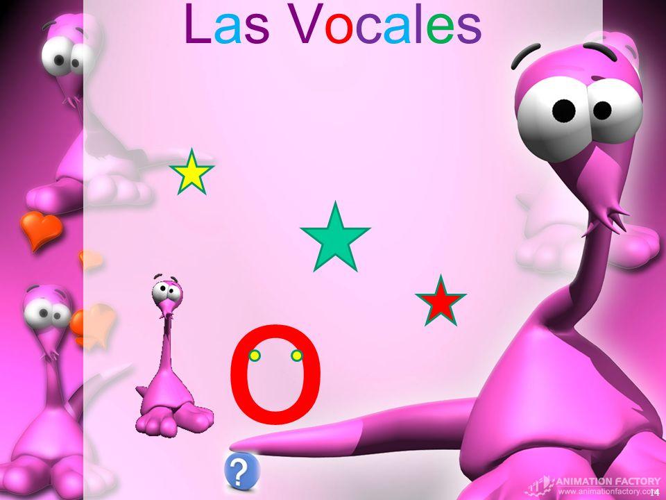 Las Vocales o