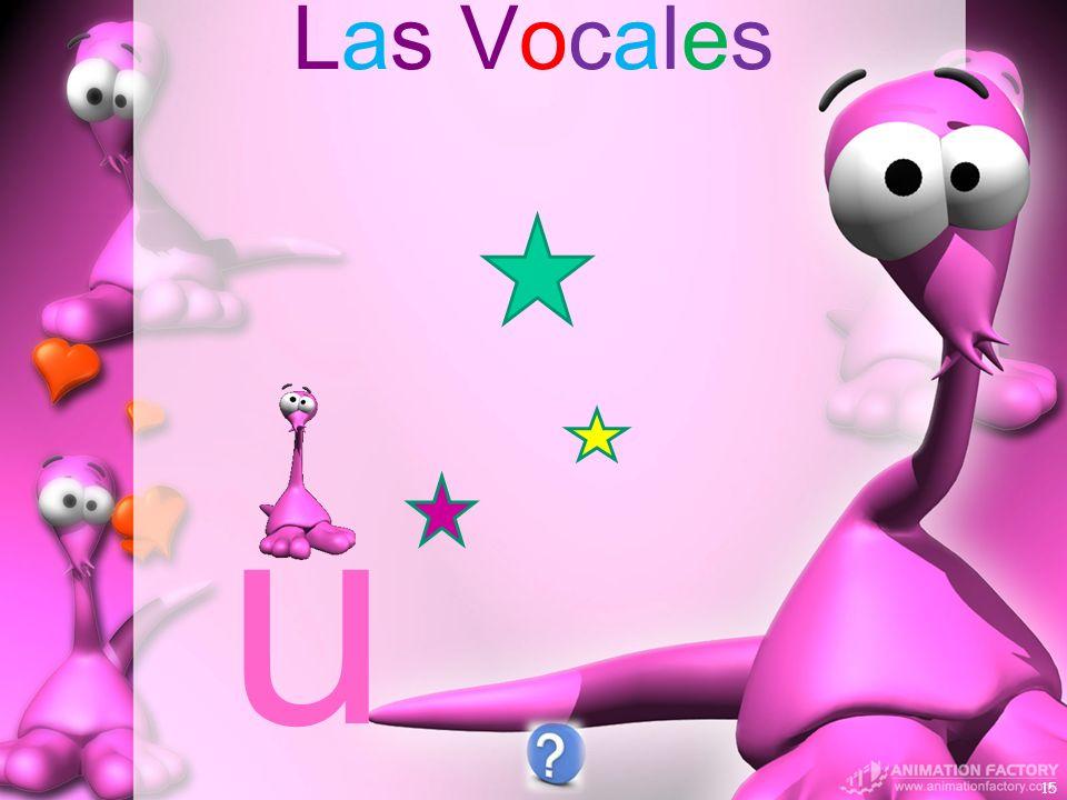 Las Vocales u