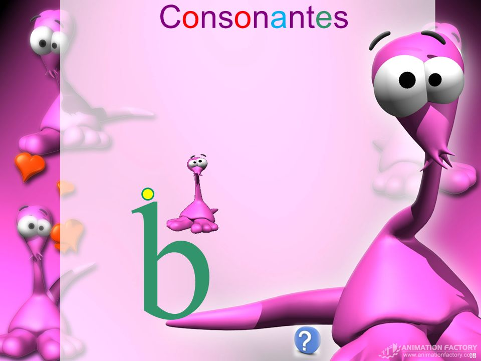 Consonantes b