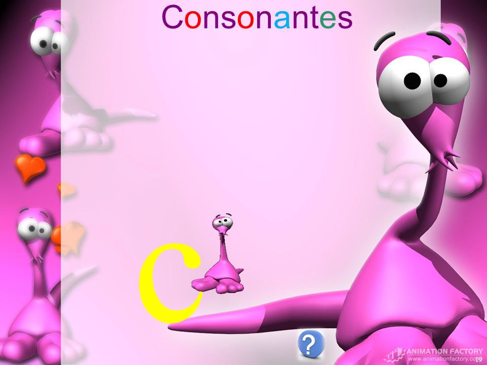 Consonantes c
