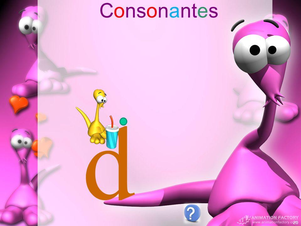 Consonantes d