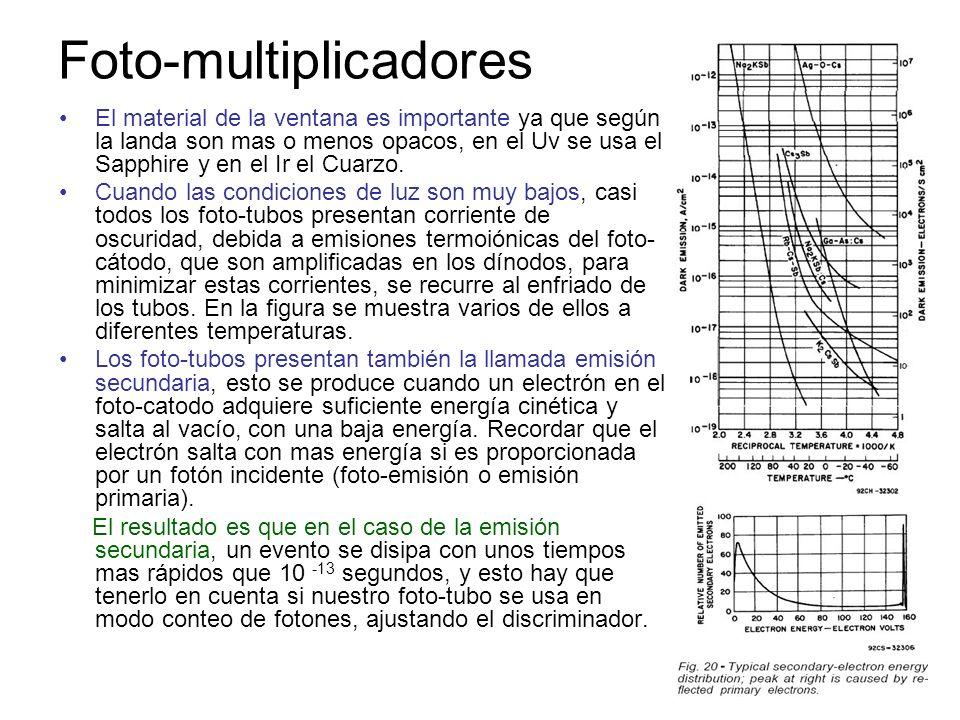 Foto-multiplicadores