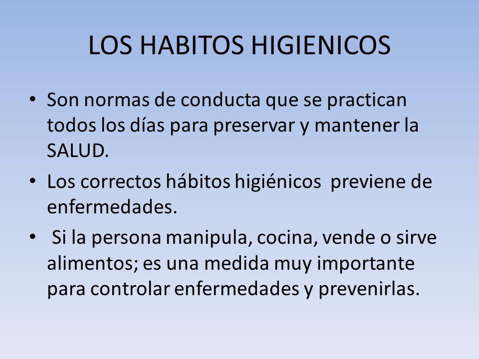 LOS HABITOS HIGIENICOS