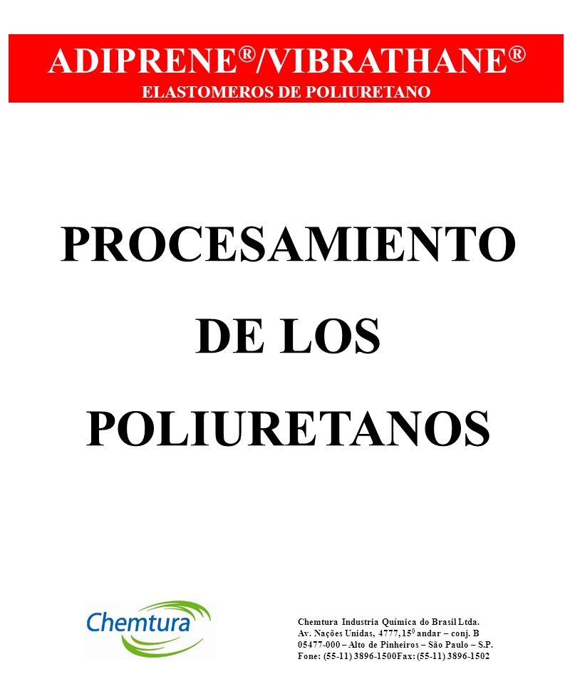 ADIPRENE®/VIBRATHANE® ELASTOMEROS DE POLIURETANO