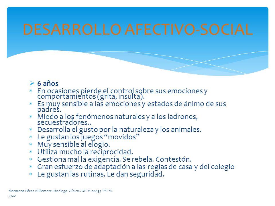 DESARROLLO AFECTIVO-SOCIAL