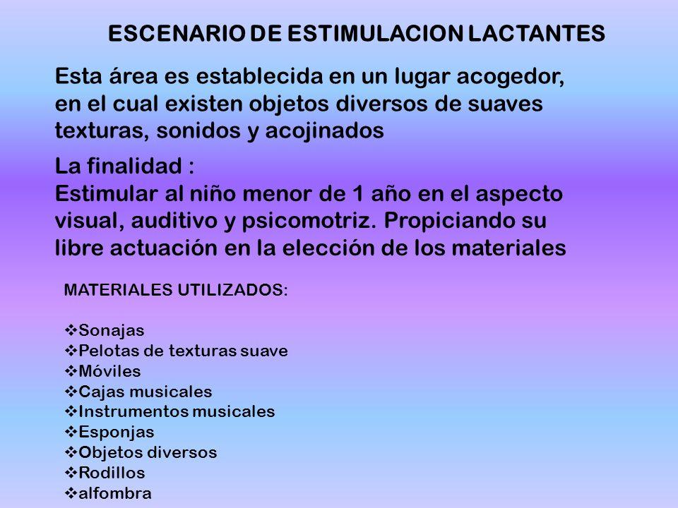 ESCENARIO DE ESTIMULACION LACTANTES