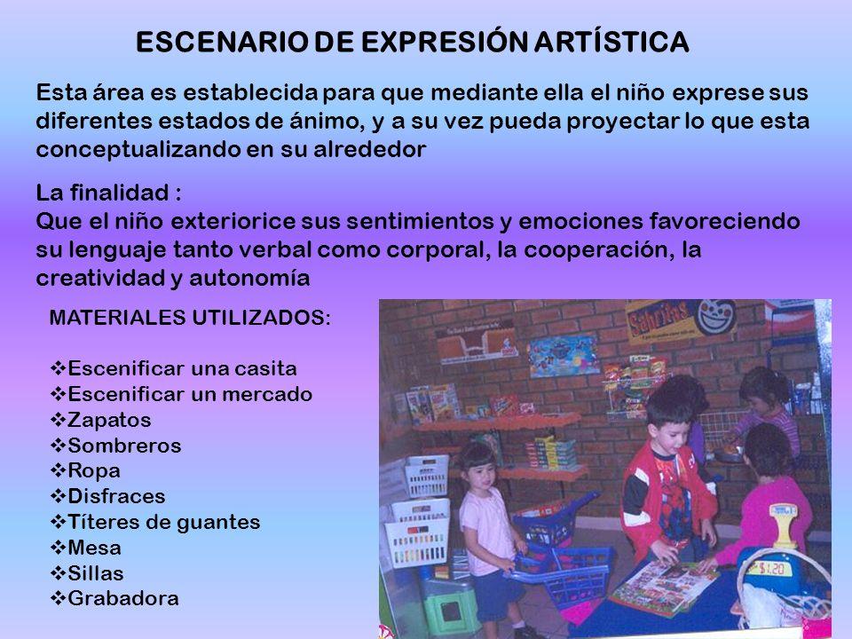 ESCENARIO DE EXPRESIÓN ARTÍSTICA