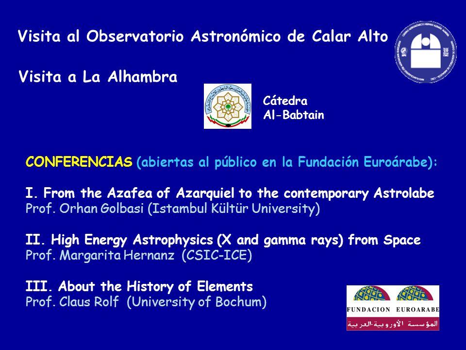 Visita al Observatorio Astronómico de Calar Alto