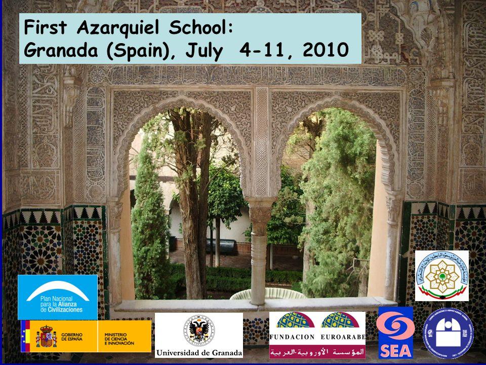 First Azarquiel School: