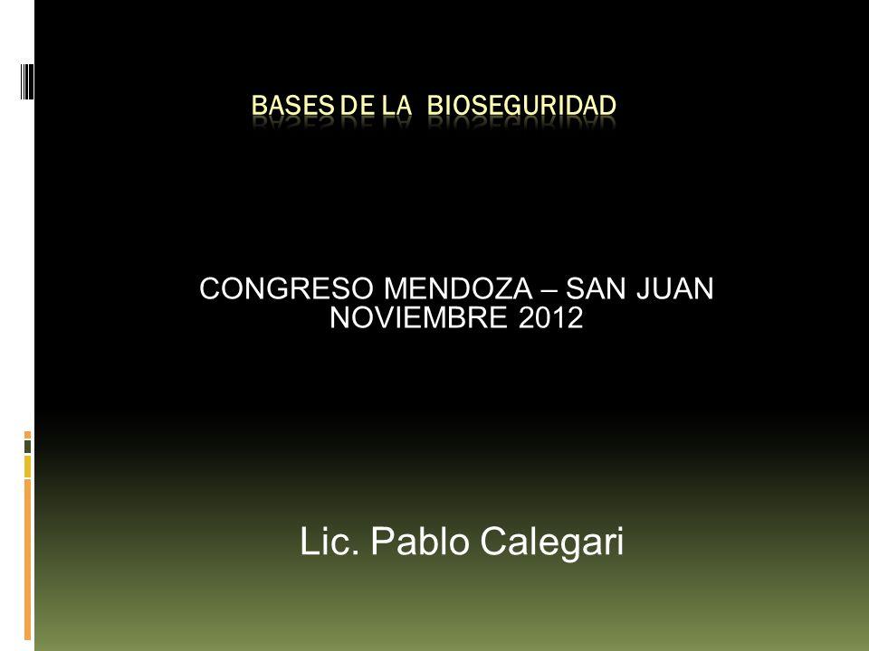 BASES de LA bioseguridad