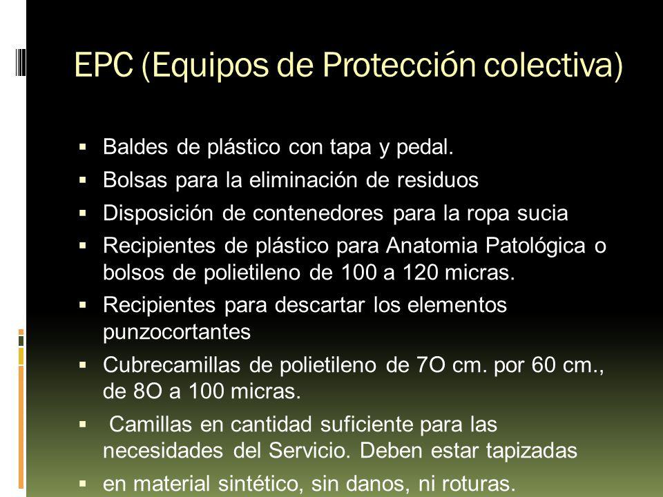 EPC (Equipos de Protección colectiva)
