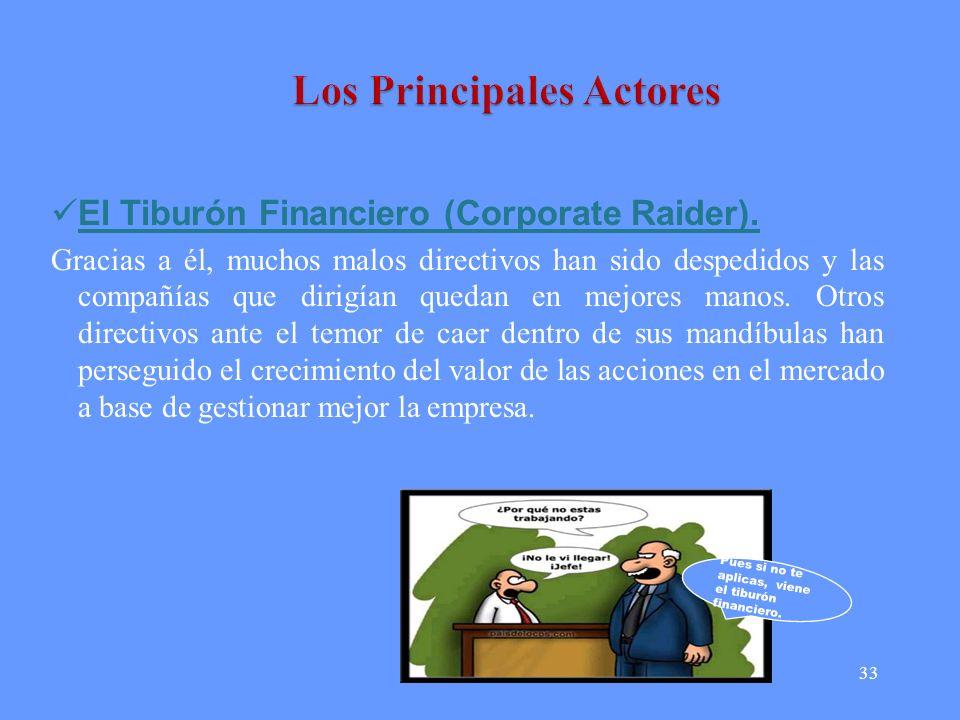 Los Principales Actores