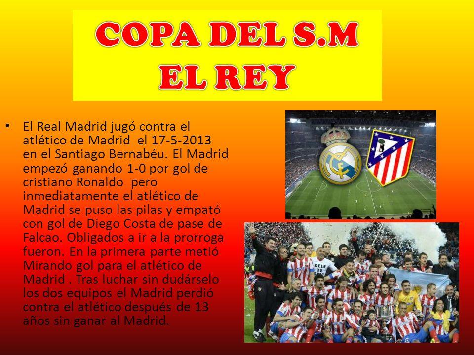COPA DEL S.M EL REY