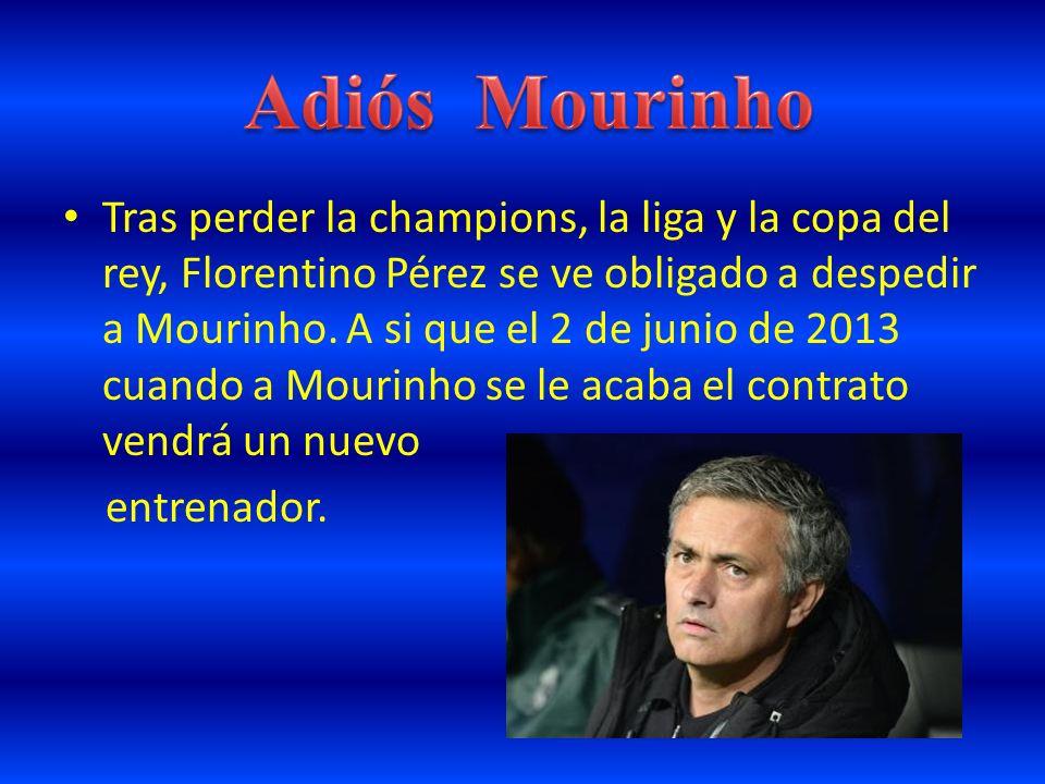 Adiós Mourinho